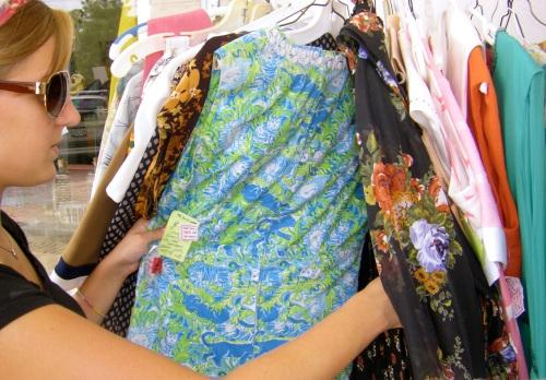 juju scours vintage sale rack