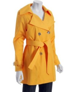 Michael Michael Kors taxi rain coat