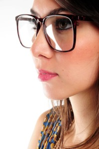 Nasty Gal Vintage- nerd alert glasses