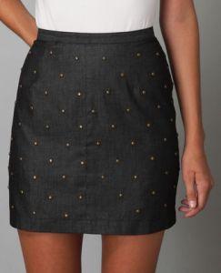 Sophia Skirt in Grey