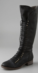 Joie- Refugee Lace Up Boots